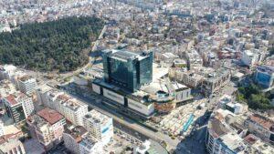 Antalya drone ile konum gösterme videosu